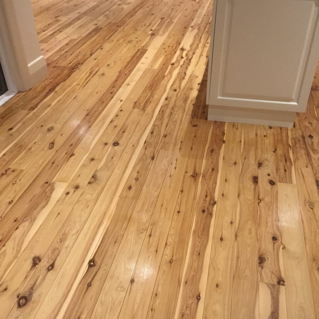 Murray Pine sealed with water based polyurethane